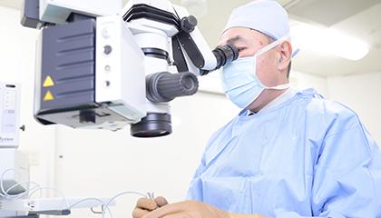 実績・経験豊富な医師による白内障の日帰り手術